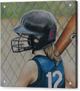 Batter Up Acrylic Print