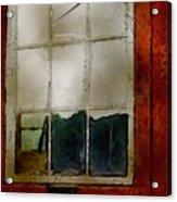 Battered Barn Acrylic Print