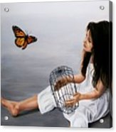 Batterfly Acrylic Print