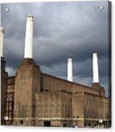 Battersea Power Station, London, Uk Acrylic Print by Johnny Greig