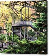 Battery Park Fall Colors  Acrylic Print
