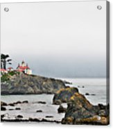 Battery Point Lighthouse California Acrylic Print