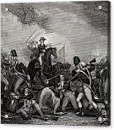 Battle At Princeton New Jersey Usa 1775 Acrylic Print