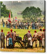 Battle Lines Forming Acrylic Print
