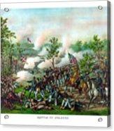 Battle Of Atlanta Acrylic Print