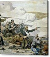 Battle Of Beecher's Island Acrylic Print