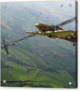 Battle Of Britain Dogfight Acrylic Print