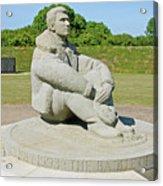 Battle Of Britain Memorial Acrylic Print