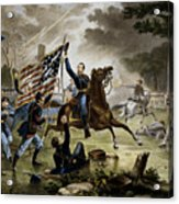 Battle Of Chantilly Civil War Painting By War Is Hell Store