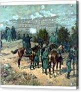 Battle Of Chattanooga Acrylic Print