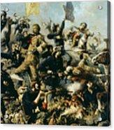 Battle Of Little Bighorn Acrylic Print
