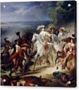 Battle Of Rocroy Acrylic Print