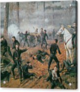 Battle Of Shiloh Acrylic Print by T C Lindsay