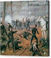 Battle Of Shiloh Acrylic Print