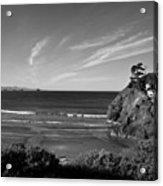 Battle Rock Beach Oregon Acrylic Print