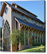 Baughman Meditation Center - Outside Acrylic Print