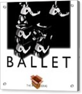 Bauhaus Ballet Poster Acrylic Print by Charles Stuart