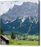 Bavarian Alps Landscape Acrylic Print