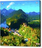 Bavarian Countryside Acrylic Print