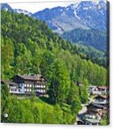 Bavarian Mountainside Acrylic Print