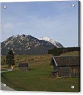 Bavarian Valley Acrylic Print