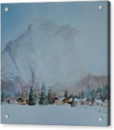 Bavarian Winter Acrylic Print