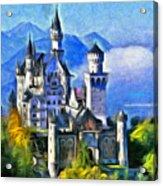 Bavaria's Neuschwanstein Castle Acrylic Print