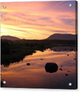 Baxter State Park At Sunset Acrylic Print