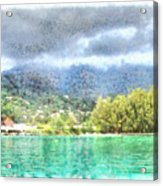 Bay And Greenery Acrylic Print