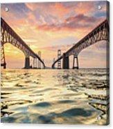 Bay Bridge Impression Acrylic Print