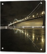Bay Bridge San Fransico Acrylic Print