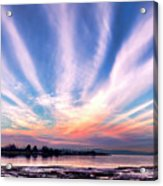 Bay Farm Island Sunrise Acrylic Print