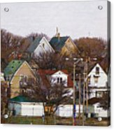 Bay View Neighborhood Acrylic Print