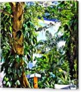 Bay View Tobago Acrylic Print