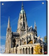 Bayeau Cathedral Acrylic Print