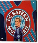 Bayern Munchen Painting Acrylic Print