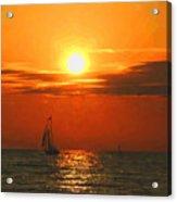 Bayfield Sunset - 1 Acrylic Print