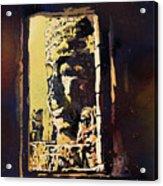 Bayon IIi- Cambodian Ruins, Angkor Wat Acrylic Print