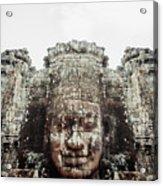 Bayon Temple Acrylic Print