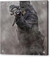 Bayonet Warrior Acrylic Print