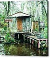 Bayou Cabin Acrylic Print