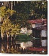 Bayou Shack Acrylic Print