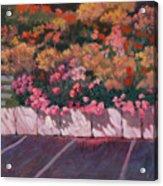 Bayside Flowers Acrylic Print