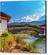 Bazam Bridge Acrylic Print