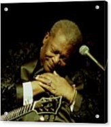 Bb King - Straight From The Heart Acrylic Print