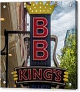 Bb King's Blues Club - Honky Tonk Row Acrylic Print