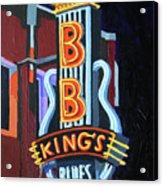 Bb King's Blues Club Acrylic Print