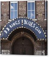 B.b. King's Blues Club Acrylic Print