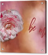 Will You Be Mine Acrylic Print