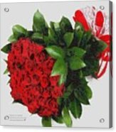 Be Mine Valentine By Presidential Candidate Catherine Lott Acrylic Print